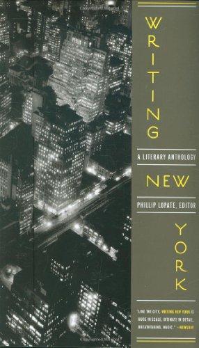 Writing New York: A Literary Anthology