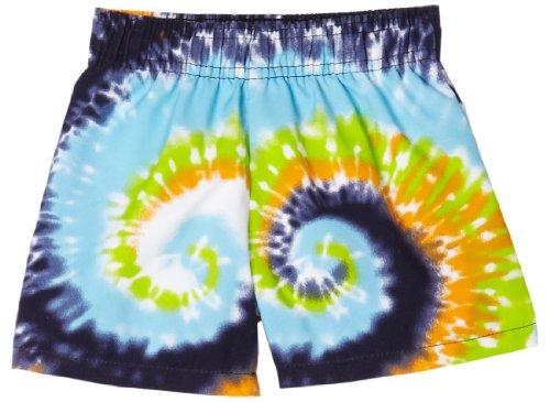 Flapdoodles Tie Dye Swirl Trunk, 18 Months, Swirl Tie Dye