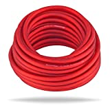 InstallGear 10 Gauge Ga Awg Red 25ft Power/Ground Cable True Spec and Soft Touch Wire