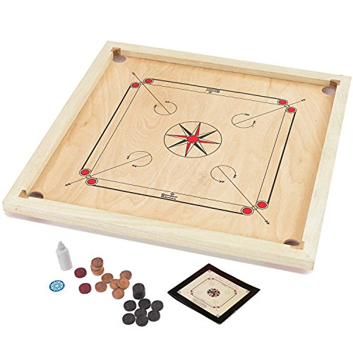 garden-games-carrom-board-set-85-x-85cm-beautifully-hand-finished-with-solid-mango-surround-for-supe