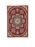 L'Eden del Tappeto Alfombra Qom Sh Rojo 90  x  60 cm