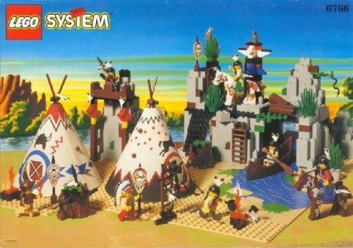 LEGO System Western 6766 Indianer Lager