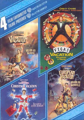 4 Film Favorites: Vacation Collection (Canadian Import) (National Lampoon's Vacation / European Vacation / Christmas Vacation / Vegas Vacation)