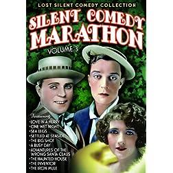 Silent Comedy Marathon, Volume 3 (Silent)