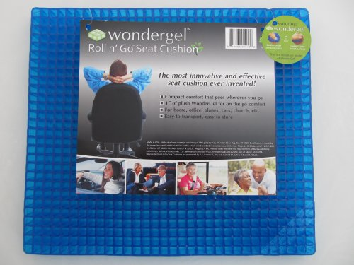 Mattress Toppers For Back Pain Wondergel Roll Go Gel Seat Cushion