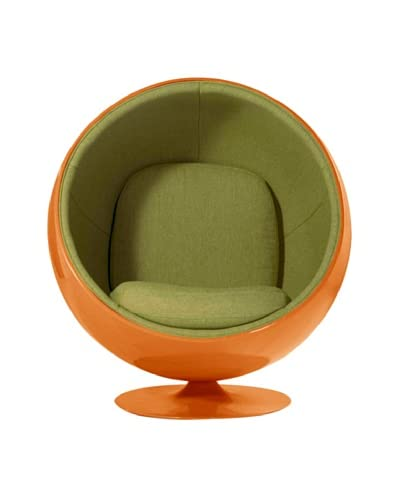 Euro Home Collection Luna Chair, Green