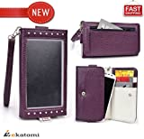 HTC Magic Cover. Universal Women's Wallet Clutch with Wrist Strap & Th... shopping
