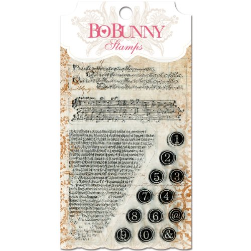 Bo Bunny Stamps, 4 by 6-Inch, It is Written (Bo Bunny Press compare prices)