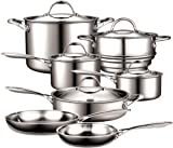 Cooks Standard NC-00232 12-Piece Multi-Ply Clad Stainless-Steel Cookware Set thumbnail