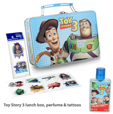 Disney Perfume Toy Story 3 Metalic Set with Perfume 1.7 Oz EDT and Tattoos