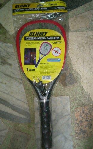 Blinky 66878-10 Racchetta Ricaricabile Sterminainsetti