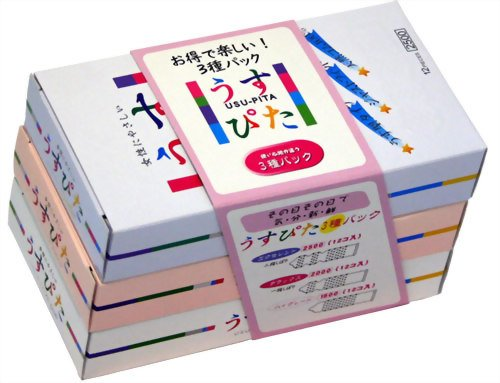 コンドーム うすぴた 1箱12個入り×3パック