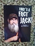 A&E Duck Dynasty That's a Fact Throw Blanket