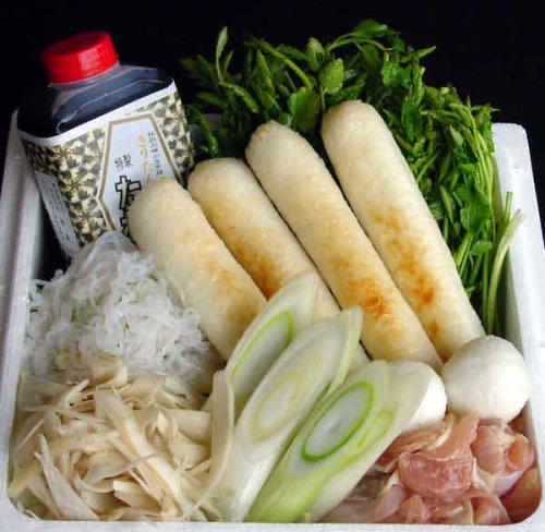 新米キリタンポ (太タイプ)きりたんぽ鍋2人前セット(消費税含む)