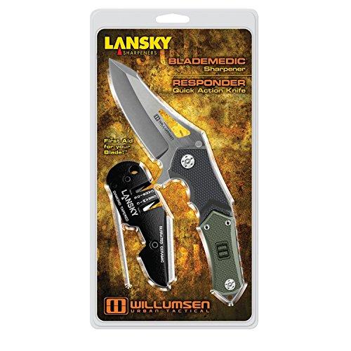 Lansky Utr7 Responder/Blademedic Knives Combo Pack
