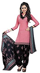 Offo*com Women's Synthetic Dress Material (1055)