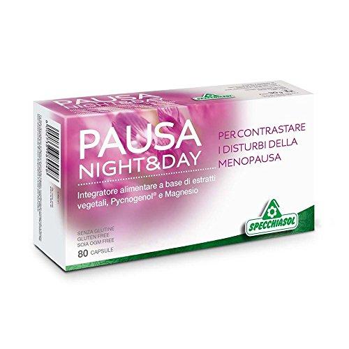 Specchiasol Pausa Night&Day Integratore Alimentare 80 Capsule
