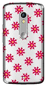 WOW Transparent Printed Back Cover Case For Motorola Moto X Play