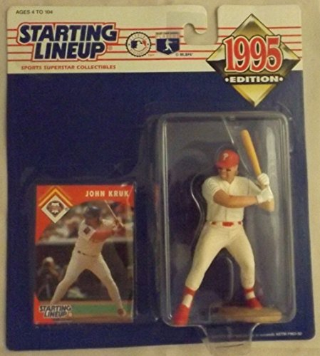1995 John Kruk MLB Starting Lineup Figure - 1
