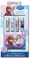 Frozen Lip Balm with Glitter Case Boxed 5 Count