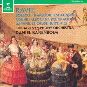 Maruice Ravel, Daniel Barenboim, Chicago Symphony Orchestra - Ravel