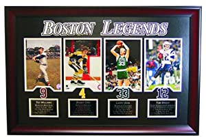 Boston Sports Legends- New England Patriot Tom Brady, Boston Red Sox Ted Williams,... by Champion