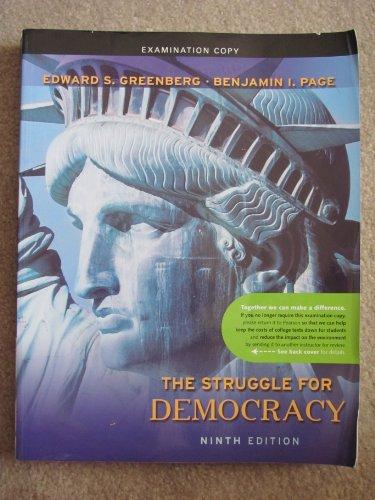 The Struggle for Democracy, Examination Copy