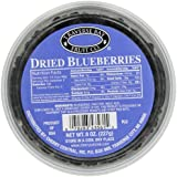 Traverse Bay Fruit Co. Dried Blueberries, 8-Ounce Containers  (Pack of 3)