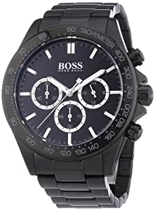 hugo boss gents watch chronograph quartz stainless steel. Black Bedroom Furniture Sets. Home Design Ideas