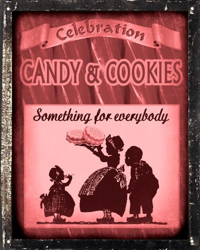 Candy gift shop Sign Wall decor - suckers cookies