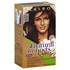 Clairol Natural Instincts Creme Color, Ammonia-Free, Medium Brown 21