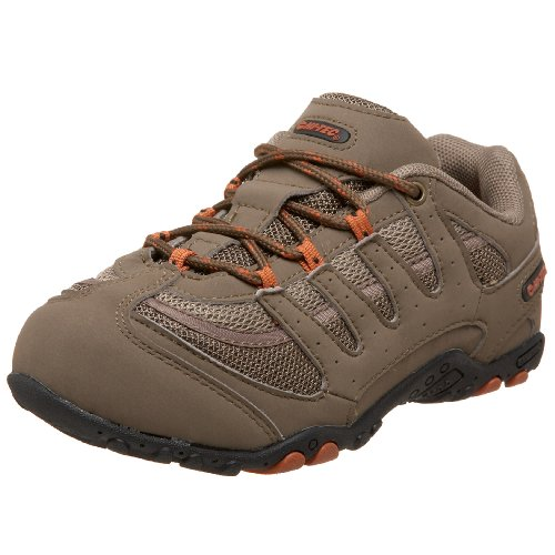 Hi-Tec Little Kid/Big Kid Prauge Jr. Hiking Shoe,Smokey Brown/Taupe/Bombay,10 M US Toddler