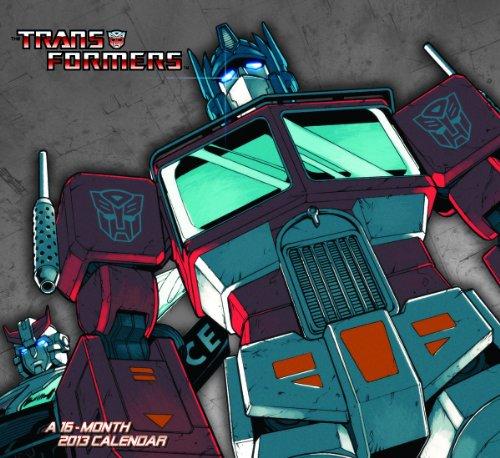 2013 Transformers Wall Calendar