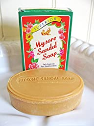 Mysore Sandalwood Soap 2.62oz (Case of 18)