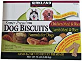 Super Premium Dog Biscuits Two Flavor Variety 15lb