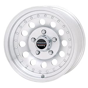 """American Racing Outlaw II AR62 Machined Wheel with Clear Coat (15x8""""/6x5.5"""")"""