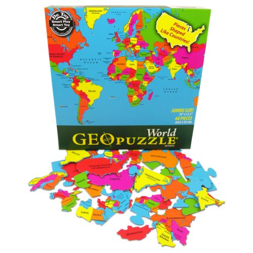 Cheap Fun GeoToys World GeoPuzzle (B003F1E7K0)