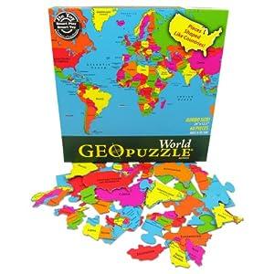 GEOToyS Geopuzzle World Puzzle