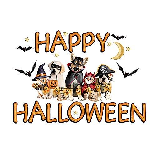 Happy Halloween Animal Garage Door Magnets (Halloween Decorations Garage Door)