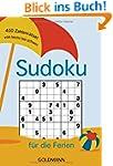 Sudoku f�r die Ferien: 400 Zahlenr�ts...