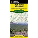 High Uintas Wilderness Map