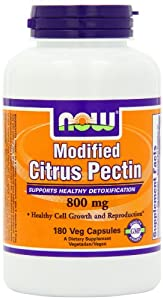 Now Foods Citrus Pectin (Modified), 180 Vcaps by Now Foods