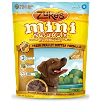 Zukes Mini Naturals for Dogs - Peanut Butter 6 Oz.