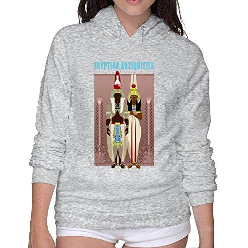 ZHENGAIMEI Womens Egyptian Antiquities Casual Hoodie Tshirt