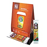 Starbucks VIA Ready Brew Coffee, Colombia, 3.3-Gram Packages,50 Count