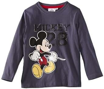 Disney Mickey Mouse HM1082 Boy's T-Shirt Grey 4 Years