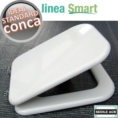 Asse sedile per wc conca ideal standard marca acb linea gold for Ideal standard conca scheda tecnica