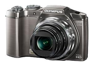 "Olympus SZ-31MR - Cámara réflex de 16 Mp (pantalla táctil de 3"", zoom óptico 24x, estabilizador de imagen dual, vídeo Full HD 1080p) color plata"