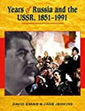 Years of Russia and the USSR 1851-1991 (0340789492) by Evans, David