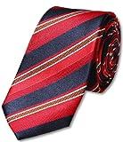 s.Oliver SELECTION Herren Krawatte, gestreift 12.301.91.1006